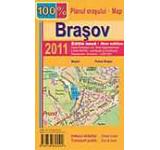 Harta pliata a municipiului Brasov
