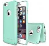 Protectie spate Ringke Slim 159378 pentru Apple iPhone 6/6S (Verde) + Folie protectie