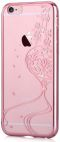 Protectie spate Devia Crystal Secret Garden DVSGIPH6RG pentru Apple iPhone 6/6S (Rose Gold)