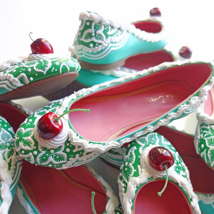 Pantofii cu aspect de prajituri, la mare moda in acest sezon - Poza 6