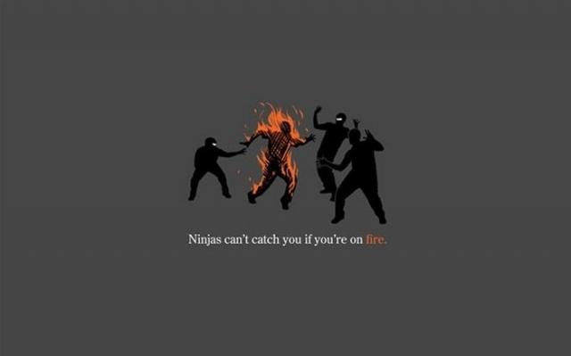 Ninja nu pot sa te prinda - Poza 8
