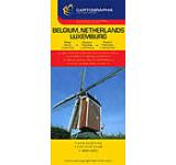 Harta rutiera - Belgia Olanda Luxemburg