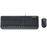 Kit Tastatura Microsoft si Mouse Wired Desktop 600 Business (Negru)