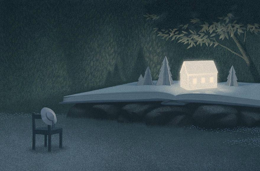 Capodopere literare, in ilustratii suprarealiste - Poza 6
