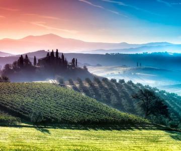 Peisaje minunate din Toscana, de Adnan Bubalo