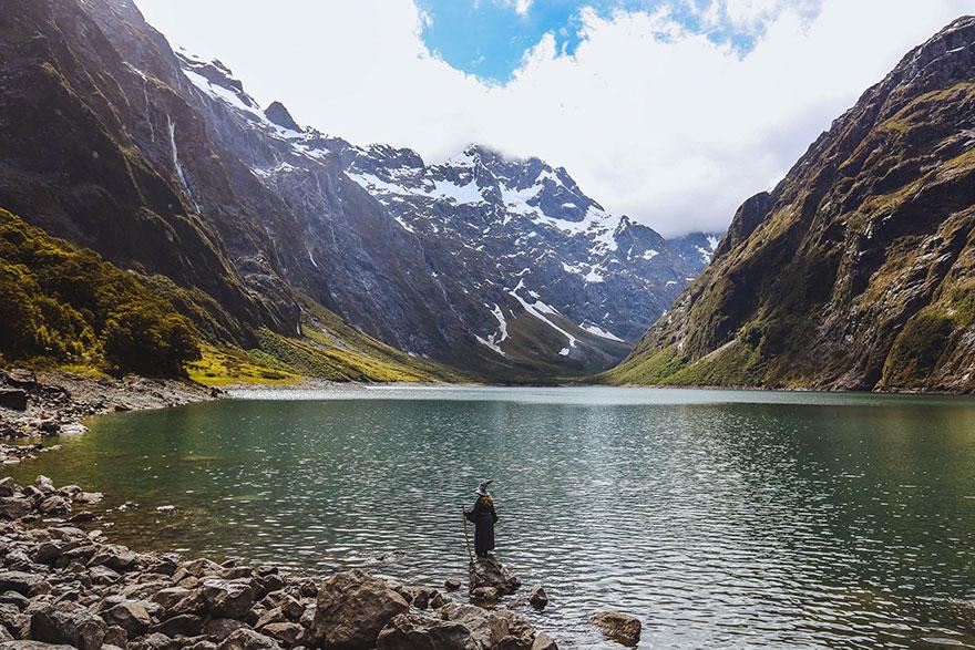 Calatoria lui Gandalf prin Noua Zeelanda, in poze epice - Poza 5