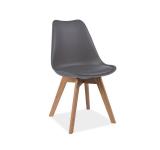 Scaun din lemn Kris Grey