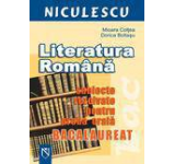 Literatura romana. Subiecte rezolvate pentru proba orala - Bacalaureat
