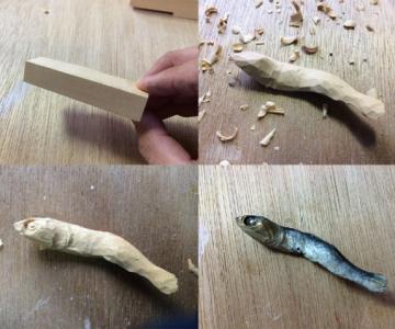 O lume culinara din lemn, de Seiji Kawasaki