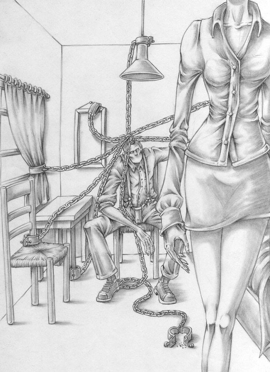Problemele societatii actuale, in ilustratii rascolitor de sincere - Poza 24