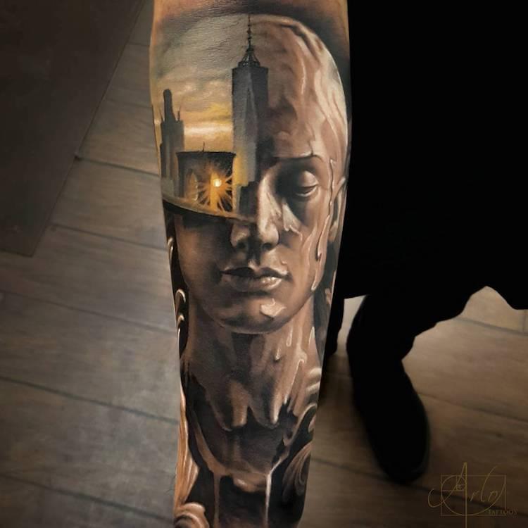 Tatuaje impresionante suprarealiste, de Alro DiCristina - Poza 5