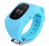 Smartwatch iUni Kid60 70991, 0.96inch, GPS, Bratara silicon, dedicat pentru copii (Albastru)