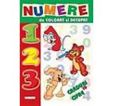 Numere de colorat si decupat