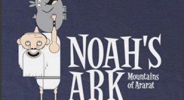 Noah's Ark Guy Tee