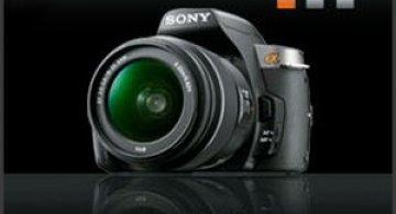 Noile camere Sony Alpha DSLR