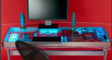 Liquid-Cooled Desk