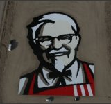 Cel mai mare logo KFC?