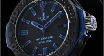 Big Bang King All Black Blue