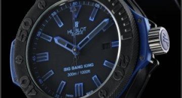 Big Bang King All Black Blue