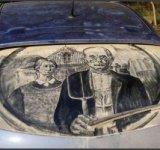 20 de desene superbe pe masini murdare