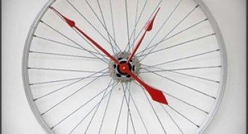 Ceasul din roata de bicicleta