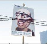 Parul din nas si reclamele