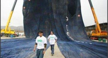 Cea mai mare pereche de jeansi din lume