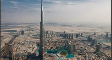 Dubai, vazut din elicopter