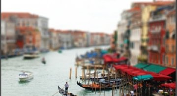 30 de poze: Tilt-Shift Photography