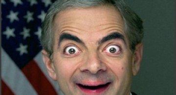 Poze teribile cu Mr. Bean