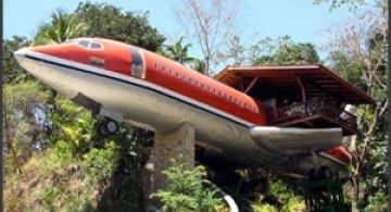 Hotelul avion, cu o priveliste de vis