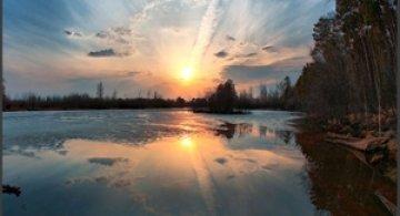 Apus de soare: 33 de poze minunate