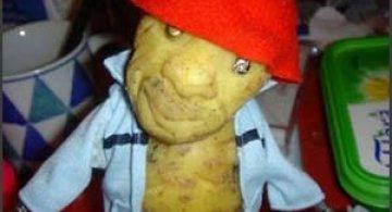 Sculptura in... cartofi!