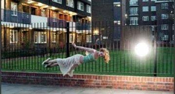 Un moment de levitatie