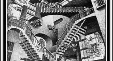 30 desene ciudate - M.C. Escher