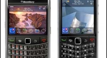 BlackBerry 9650 si BlackBerry Pearl 3G