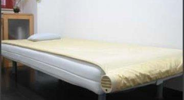 Pentru confort - pat cu aer conditionat