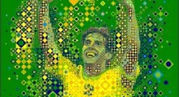 Portrete uimitoare in mozaic