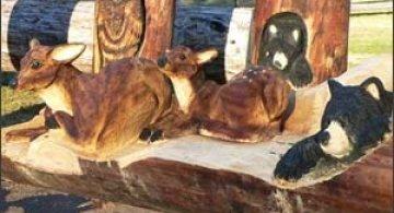 Sculptura in lemn de Randall D.Boni