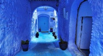 Chefchaouen: un loc magic