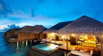 Locuinte lacustre de lux in Maldive