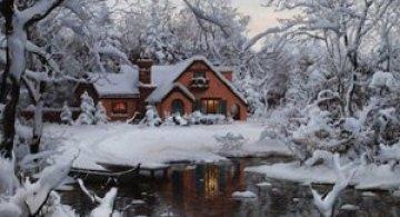 O iarna tihnita cu Evgheny Lushpin