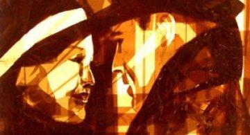 Arta cu Scotch si felinare, de Max Zorn