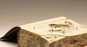 Peisaje textuale, sculptate de Kyle Kirkpatrick