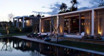 Vis de iarna la vila Tantangan, Bali