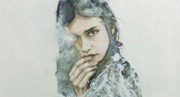 Chipul femeii in detaliu: Oriol Angrill Jorda