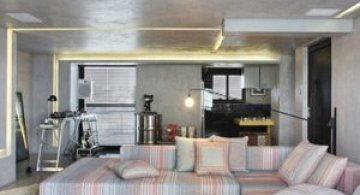 Apartament de DJ la Sao Paulo, de Guilherme Torres