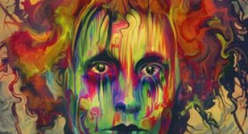 Eroi in culori psihedelice de Nicky Barkla
