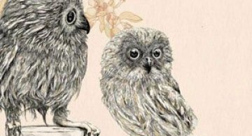 Ilustratii cu sarm retro, de Gabriella Barouch