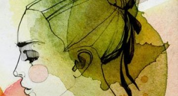 Rusoaica berlineza si femeile lui Schiele, Mucha si Klimt